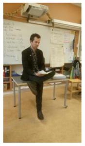 Författarbesök och läslust - Mårten Melin